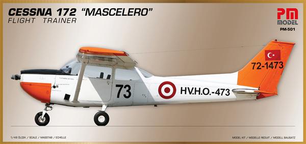セスナ 172 メスカレロ 練習機プラモデル(PM MODEL1/72 エアクラフトNo.PM-501)商品画像