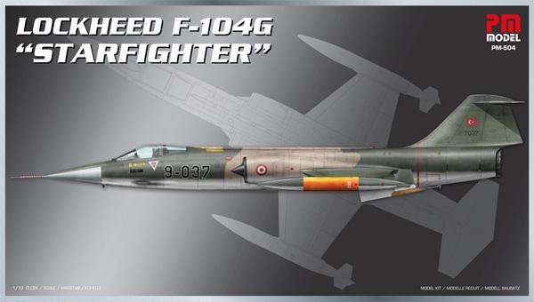 ロッキード F-104G スターファイタープラモデル(PM MODEL1/72 エアクラフトNo.PM-504)商品画像