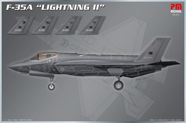F-35A ライトニング 2プラモデル(PM MODEL1/72 エアクラフトNo.PM-601)商品画像