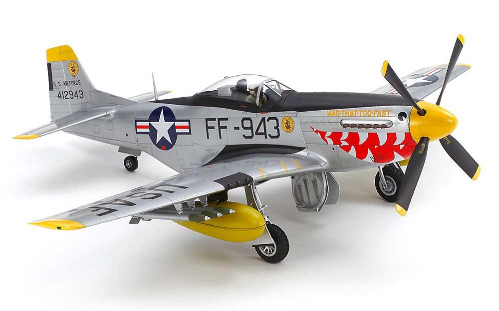 ノースアメリカン F-51D マスタング (朝鮮戦争)プラモデル(タミヤ1/32 エアークラフトシリーズNo.60328)商品画像_1