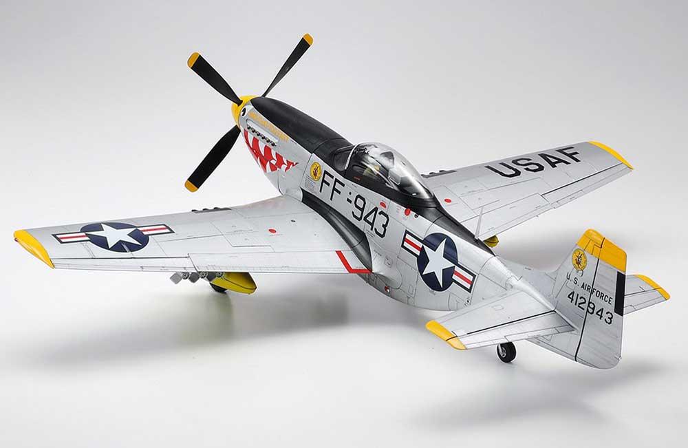 ノースアメリカン F-51D マスタング (朝鮮戦争)プラモデル(タミヤ1/32 エアークラフトシリーズNo.60328)商品画像_2