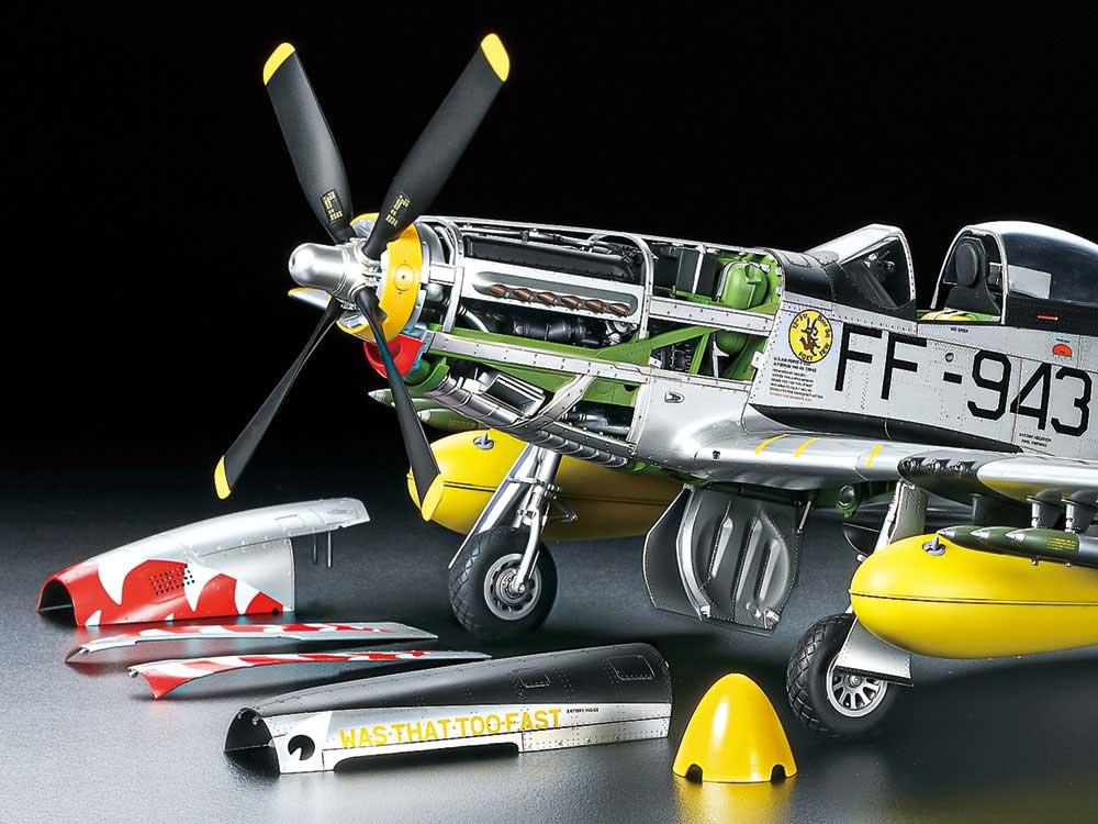 ノースアメリカン F-51D マスタング (朝鮮戦争)プラモデル(タミヤ1/32 エアークラフトシリーズNo.60328)商品画像_3