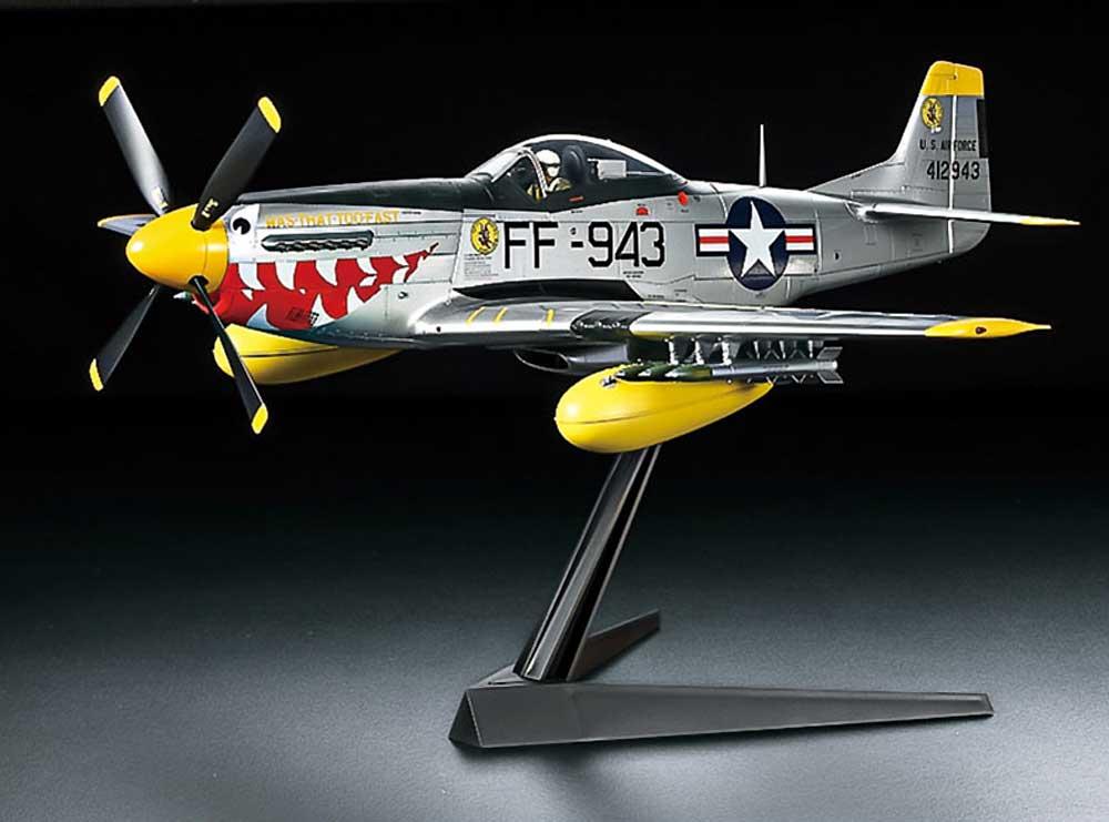 ノースアメリカン F-51D マスタング (朝鮮戦争)プラモデル(タミヤ1/32 エアークラフトシリーズNo.60328)商品画像_4