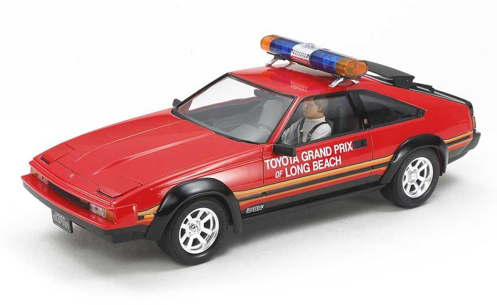 トヨタ セリカ スープラ ロングビーチGP マーシャルカープラモデル(タミヤ1/24 スポーツカーシリーズNo.033)商品画像_2