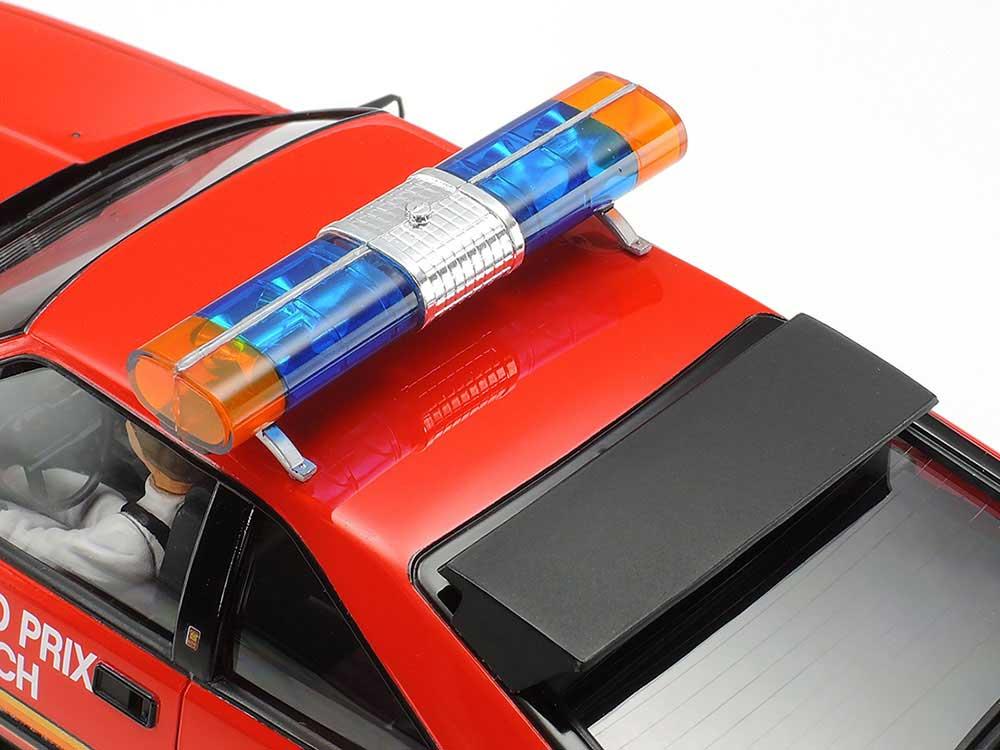 トヨタ セリカ スープラ ロングビーチGP マーシャルカープラモデル(タミヤ1/24 スポーツカーシリーズNo.033)商品画像_4
