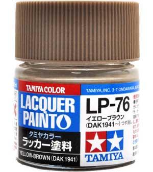 LP-76 イエローブラウン DAK 1941~塗料(タミヤタミヤ ラッカー塗料No.LP-076)商品画像