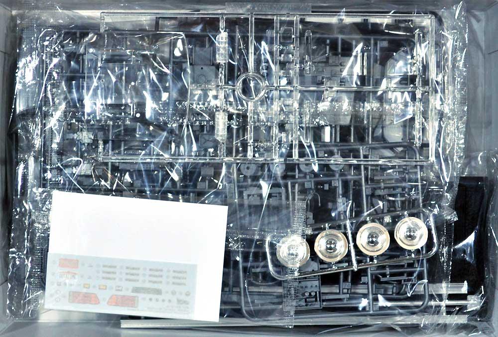 バック・トゥ・ザ・フューチャー デロリアン パート 3 & レイルロードプラモデル(アオシマムービーメカシリーズNo.BT-003)商品画像_1