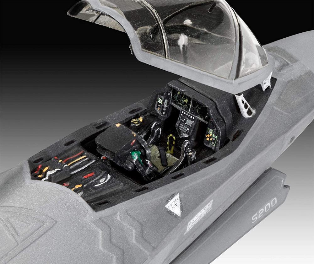 F-35A ライトニング 2プラモデル(レベル1/72 AircraftNo.03868)商品画像_3