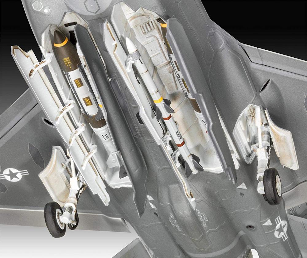 F-35A ライトニング 2プラモデル(レベル1/72 AircraftNo.03868)商品画像_4