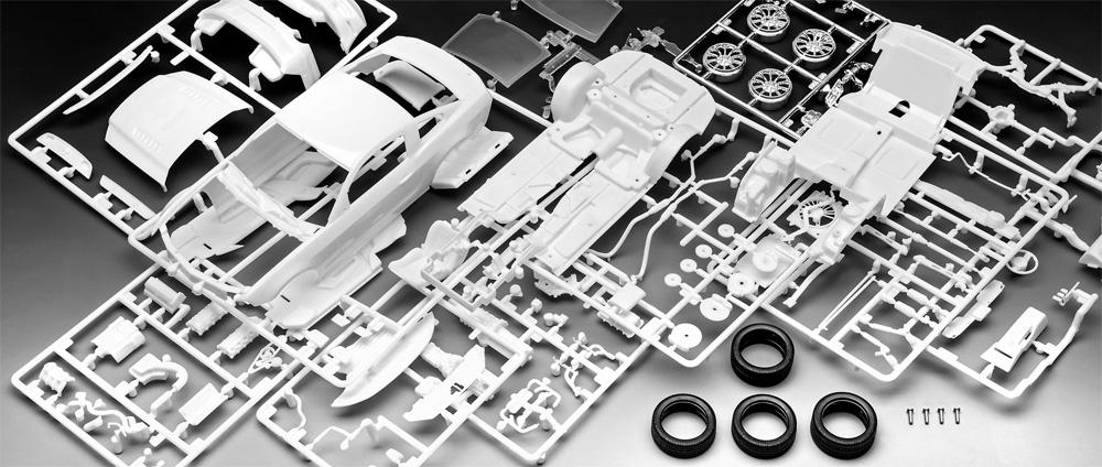2013 フォード マスタング Boss 302プラモデル(レベルカーモデルNo.07652)商品画像_1