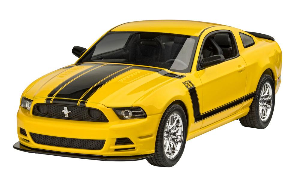 2013 フォード マスタング Boss 302プラモデル(レベルカーモデルNo.07652)商品画像_2