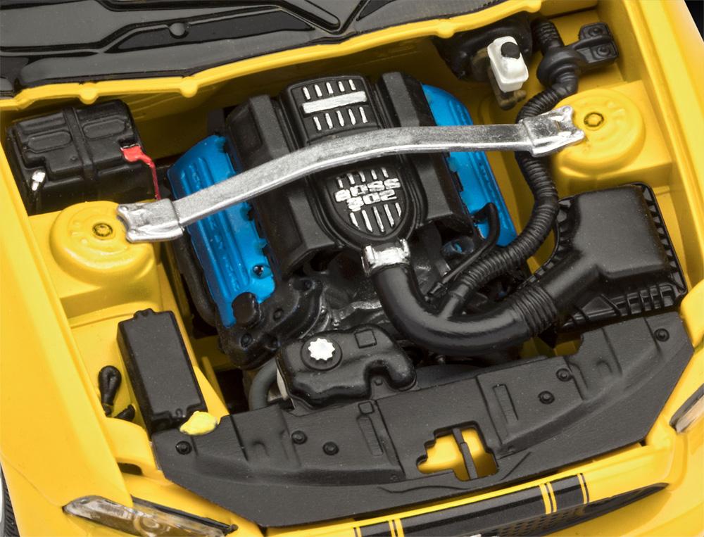 2013 フォード マスタング Boss 302プラモデル(レベルカーモデルNo.07652)商品画像_3