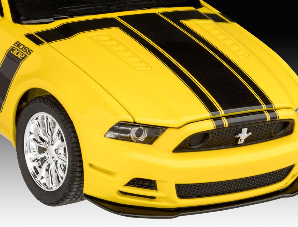 2013 フォード マスタング Boss 302プラモデル(レベルカーモデルNo.07652)商品画像_4