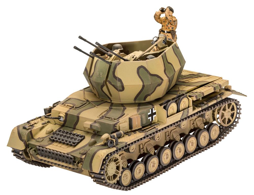 ドイツ 4号対空戦車 ヴィルベルヴィントプラモデル(レベル1/35 ミリタリーNo.03296)商品画像_1