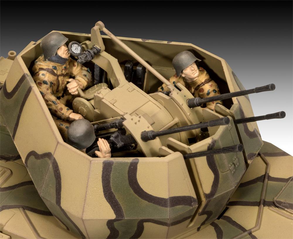 ドイツ 4号対空戦車 ヴィルベルヴィントプラモデル(レベル1/35 ミリタリーNo.03296)商品画像_2