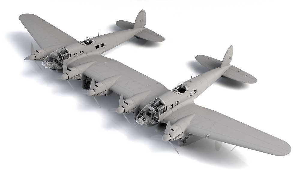 ハインケル He111Z-1 ツヴィーリンクプラモデル(ICM1/48 エアクラフト プラモデルNo.48260)商品画像_1