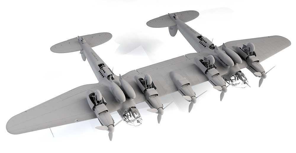 ハインケル He111Z-1 ツヴィーリンクプラモデル(ICM1/48 エアクラフト プラモデルNo.48260)商品画像_3