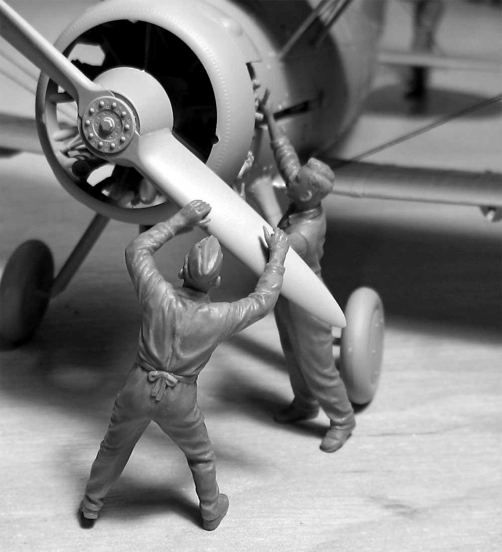 WW2 イギリス空軍 グランドクルー セット 1939-1945プラモデル(ICM1/32 エアクラフトNo.32107)商品画像_2