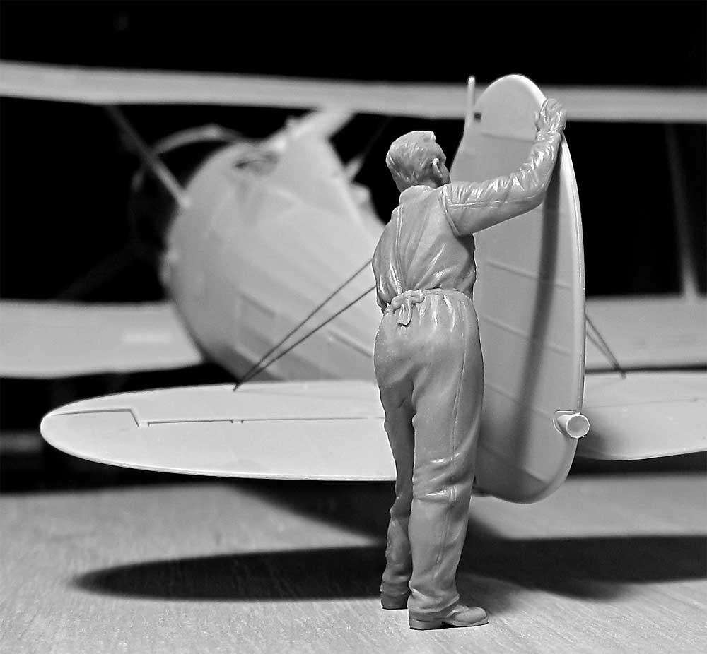WW2 イギリス空軍 グランドクルー セット 1939-1945プラモデル(ICM1/32 エアクラフトNo.32107)商品画像_4