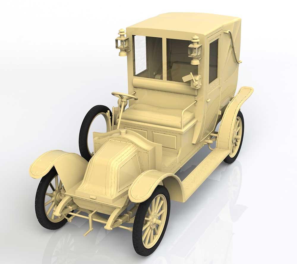 ルノー タイプ AG 1910年 ロンドンタクシープラモデル(ICM1/35 ミリタリービークル・フィギュアNo.35658)商品画像_1