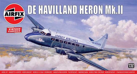 デ・ハビラント ヘロン Mk.2プラモデル(エアフィックス1/72 ミリタリーエアクラフトNo.A03001V)商品画像