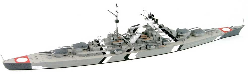 ドイツ海軍 ビスマルク級戦艦 ビスマルク ソードフィッシュ雷撃機 4機付き 限定版プラモデル(ピットロード1/700 スカイウェーブ W シリーズNo.W192SI)商品画像_2