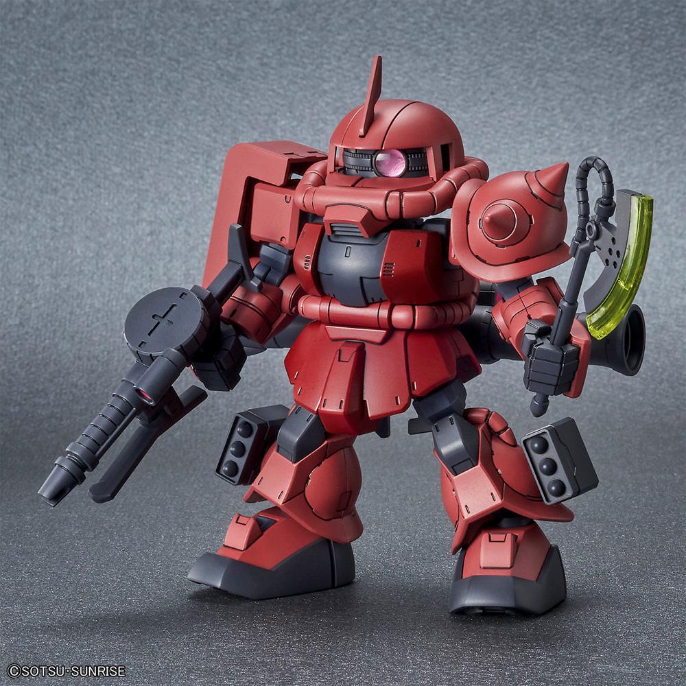RX-78-2 ガンダム & シャア専用ザク 2プラモデル(バンダイSDガンダム クロスシルエットNo.5060276)商品画像_3