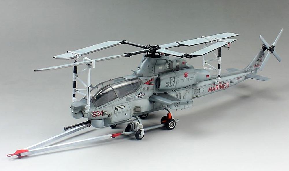 AH-1Z ヴァイパー 攻撃ヘリコプタープラモデル(ドリームモデル1/72 航空機モデルNo.DM720012)商品画像_4