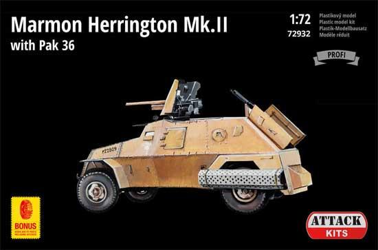 マーモン ヘリントン装甲車 Mk.2 w/PaK 36プラモデル(アタック1/72 AFV シリーズNo.72932)商品画像
