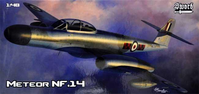 ミーティア NF.14プラモデル(ソード1/48 エアクラフト プラモデルNo.SW48011)商品画像