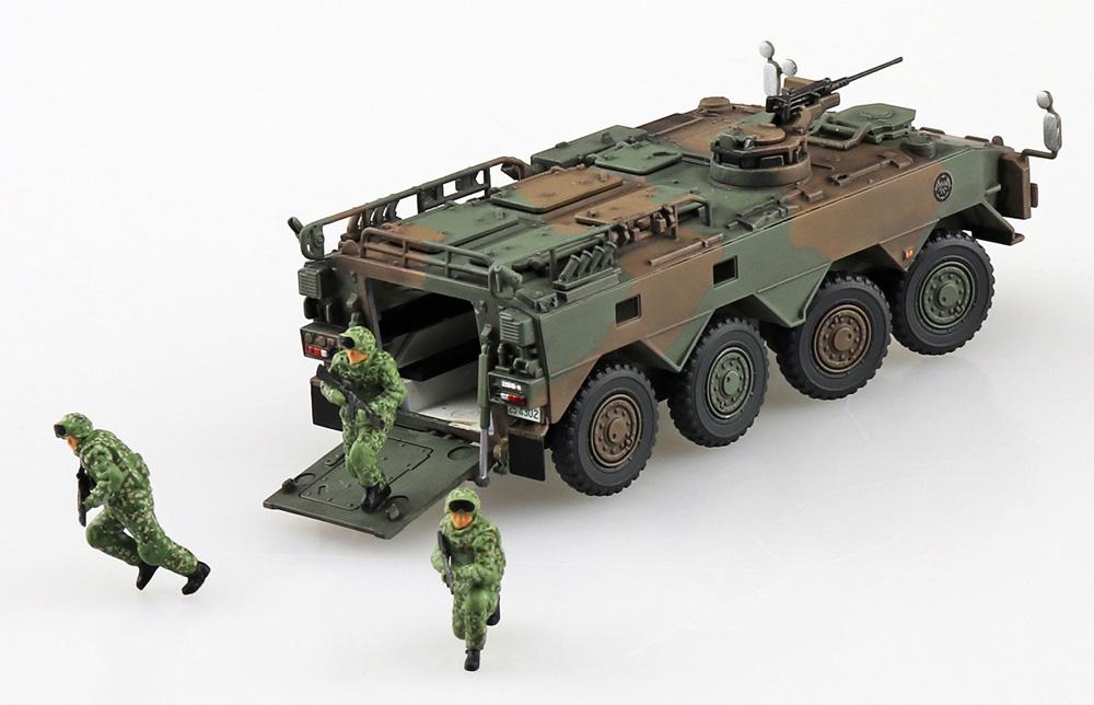 陸上自衛隊 96式装輪装甲車B型 即応機動連隊プラモデル(アオシマ1/72 ミリタリーモデルキットシリーズNo.SP4905083057827)商品画像_2