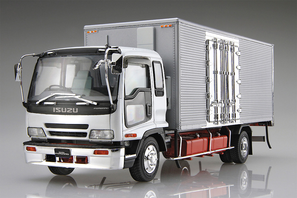 いすゞ フォワード ハイスター 冷凍車プラモデル(アオシマ1/32 ヘビーフレイト シリーズNo.005)商品画像_1