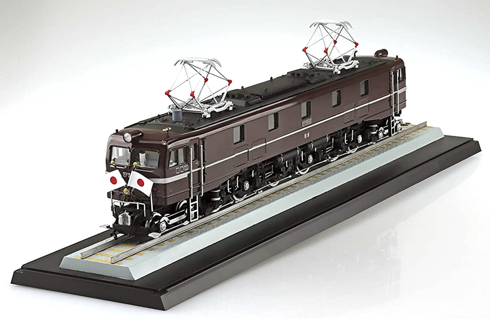 国鉄直流電気機関車 EF58 ロイヤルエンジンプラモデル(アオシマ1/50 電気機関車シリーズNo.004)商品画像_1