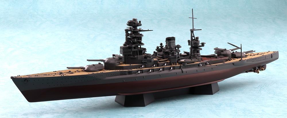 日本海軍 戦艦 陸奥 1942 金属砲身付プラモデル(アオシマ1/700 艦船 (フルハルモデル) シリーズNo.4905083059807)商品画像_1