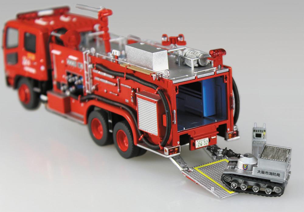 化学消防ポンプ車 大阪市消防局 C6プラモデル(アオシマワーキングビークルシリーズNo.004)商品画像_3
