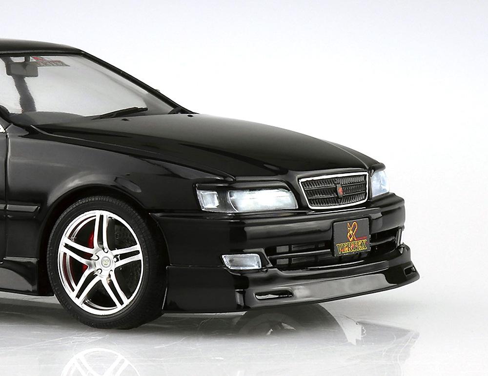 VERTEX JZX100 チェイサー ツアラーV '98 (トヨタ)プラモデル(アオシマ1/24 ザ・チューンドカーNo.010)商品画像_4