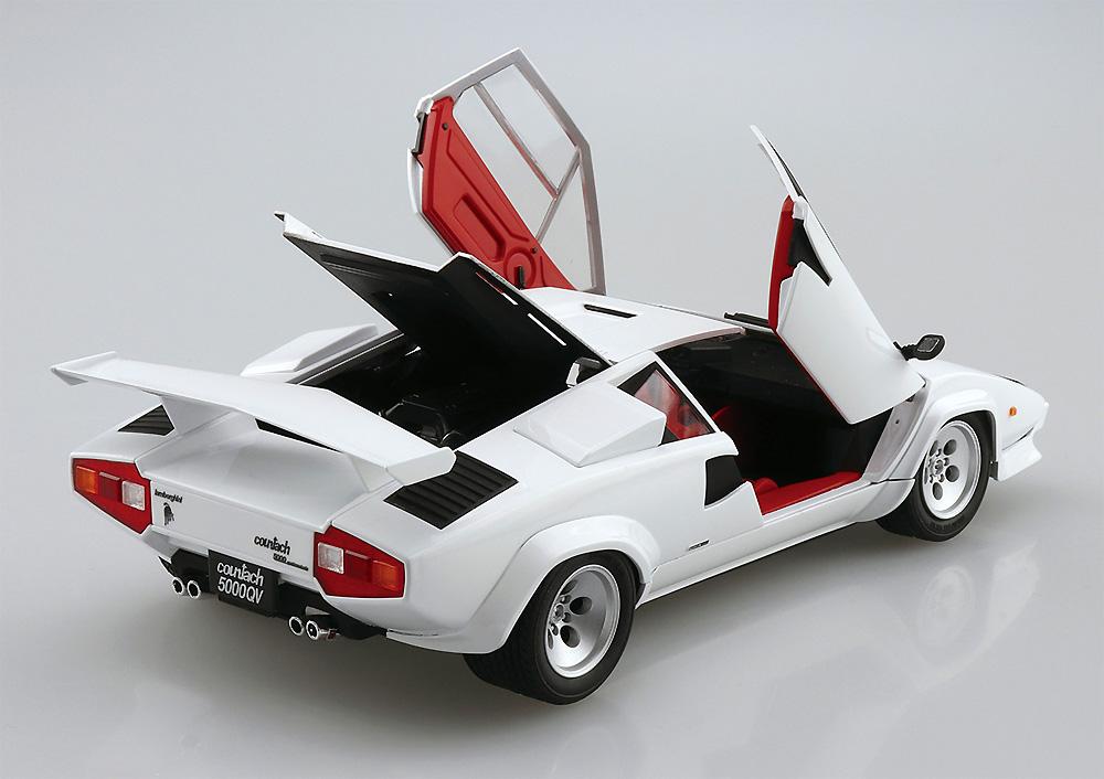 '85 ランボルギーニ カウンタック 5000QVプラモデル(アオシマザ スーパーカー シリーズNo.009)商品画像_2
