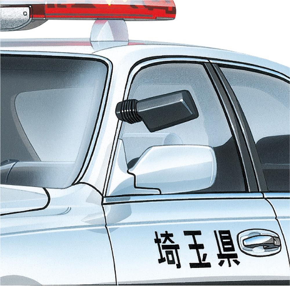 パトカーパーツ Aプラモデル(アオシマザ・チューンドパーツNo.096)商品画像_4