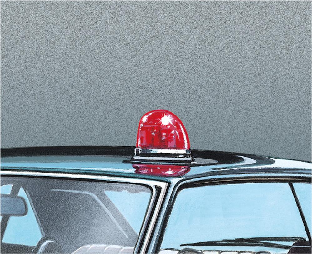 パトカーパーツ Cプラモデル(アオシマザ・チューンドパーツNo.098)商品画像_4