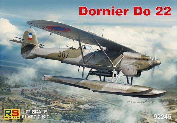 ドルニエ Do22 クロアチア、ギリシャプラモデル(RSモデル1/72 エアクラフト プラモデルNo.92245)商品画像