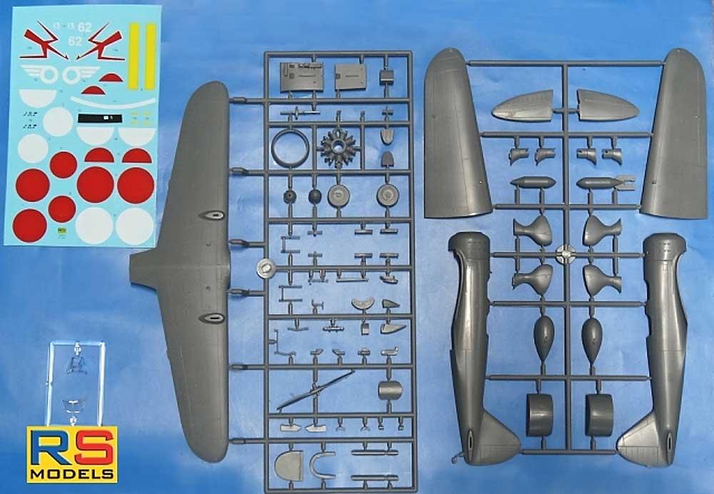 満州 キ-79 二式高等練習機 甲型プラモデル(RSモデル1/48 エアクラフト プラモデルNo.48005)商品画像_2