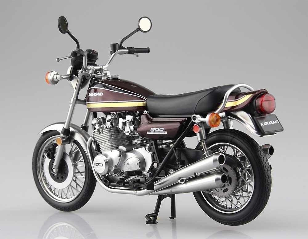 カワサキ 900 Super4 (Z1) 玉虫マルーン完成品(アオシマ1/12 完成品バイクシリーズNo.104606)商品画像_2