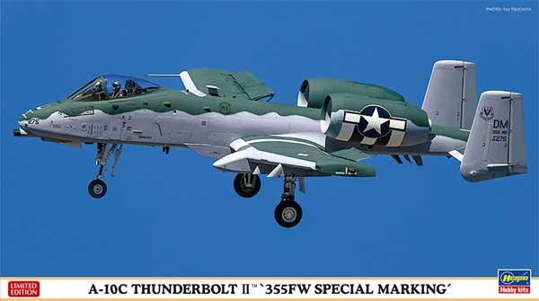A-10C サンダーボルト 2 355FW スペシャルマーキングプラモデル(ハセガワ1/72 飛行機 AシリーズNo.02333)商品画像