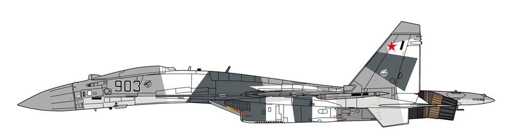 Su-35 フランカー UAVプラモデル(ハセガワ1/72 飛行機 限定生産No.02334)商品画像_3