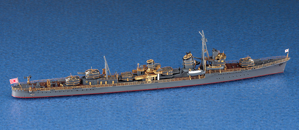 日本海軍 駆逐艦 朝潮 ハイパーディテールプラモデル(ハセガワ1/700 ウォーターラインシリーズ スーパーディテールNo.30064)商品画像_1