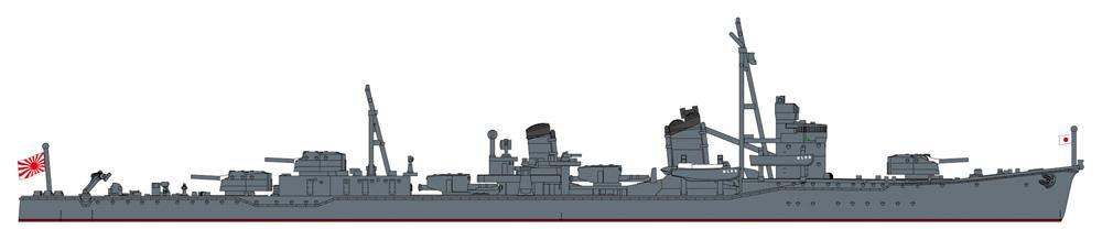 日本海軍 駆逐艦 朝潮 ハイパーディテールプラモデル(ハセガワ1/700 ウォーターラインシリーズ スーパーディテールNo.30064)商品画像_3