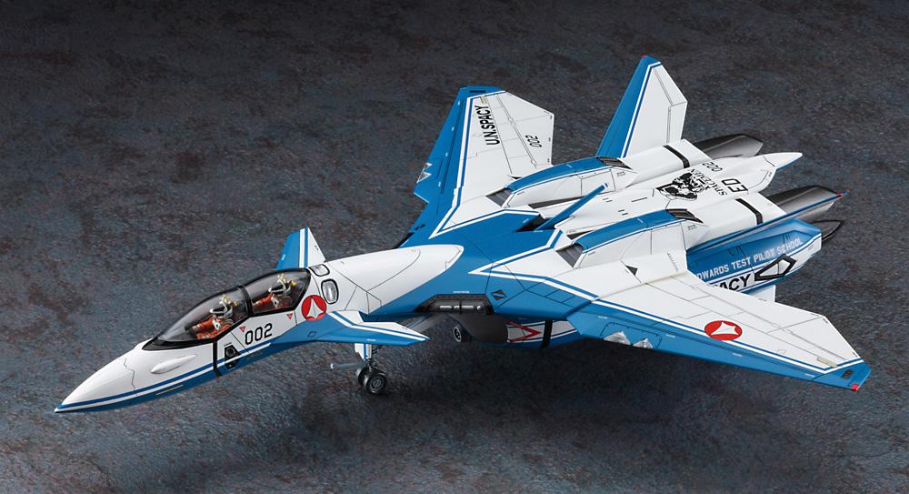 VF-11D サンダーボルト テストパイロットスクールプラモデル(ハセガワマクロスシリーズNo.65866)商品画像_2