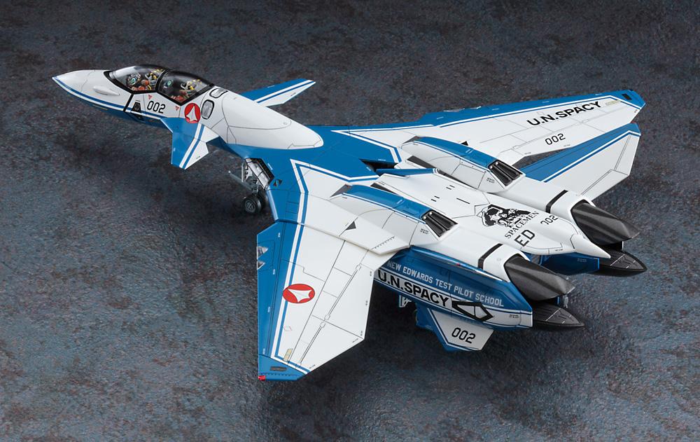 VF-11D サンダーボルト テストパイロットスクールプラモデル(ハセガワマクロスシリーズNo.65866)商品画像_3