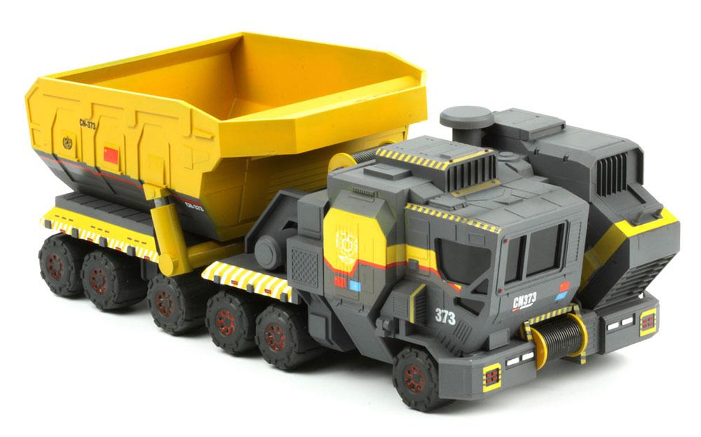 CN373 カーゴトラック 鉄鉱石輸送バスケットキャリア (流転の地球)プラモデル(MENG-MODELMovie Kits (ムービーキット)No.mms-006)商品画像_2