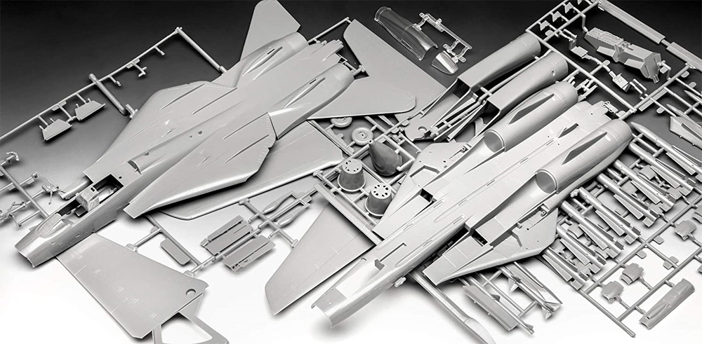 トップガン マーヴェリック F-14A トムキャットプラモデル(レベル1/48 飛行機モデルNo.03865)商品画像_1